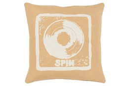 Accent Pillow-Spin Gold 18X18