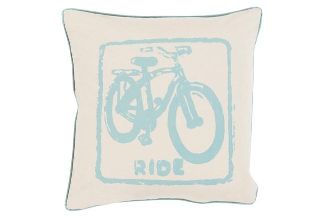 Accent Pillow-Ride Moss/Beige 18X18 - 360