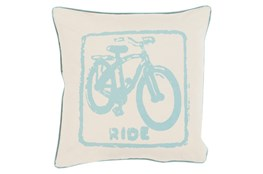 Accent Pillow-Ride Moss/Beige 20X20