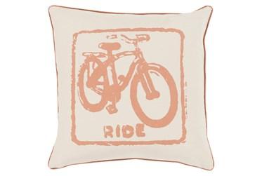 Accent Pillow-Ride Tan/Beige 18X18