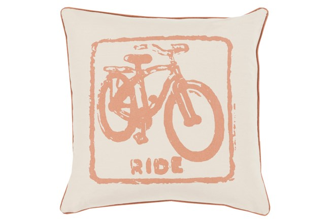 Accent Pillow-Ride Tan/Beige 18X18 - 360