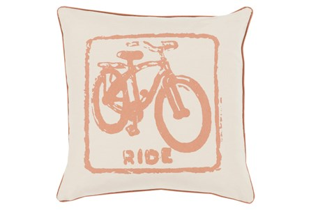Accent Pillow-Ride Tan/Beige 20X20