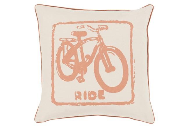 Accent Pillow-Ride Tan/Beige 20X20 - 360