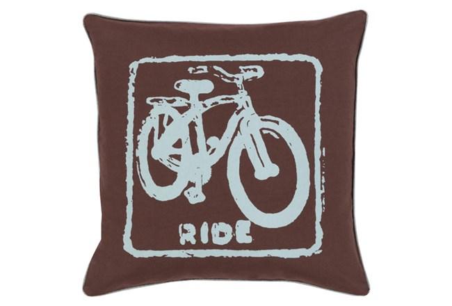 Accent Pillow-Ride Black/Slate 20X20 - 360