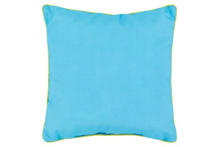 Accent Pillow-Barnes Solid Aqua 20X20