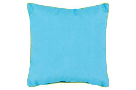 Accent Pillow-Barnes Solid Aqua 20X20