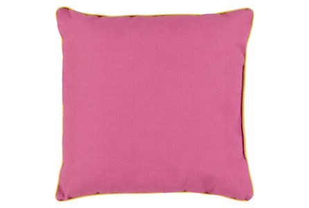 Accent Pillow-Barnes Solid Magenta 20X20