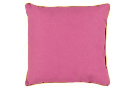 Accent Pillow-Barnes Solid Magenta 20X20