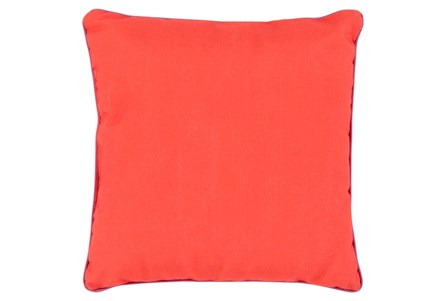 Accent Pillow-Barnes Solid Poppy 20X20