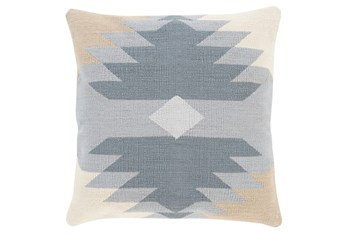 Accent Pillow-Sedona Abstract Grey Multi 18X18
