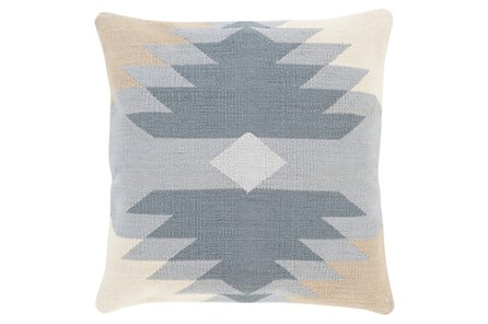 Accent Pillow-Sedona Abstract Grey Multi 18X18 - Main