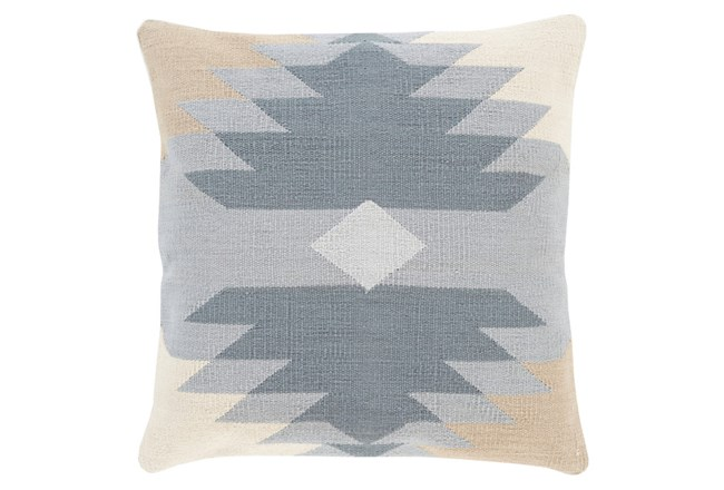 Accent Pillow-Sedona Abstract Grey Multi 18X18 - 360