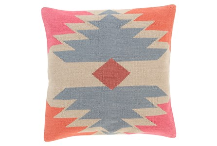 Accent Pillow-Sedona Abstract Orange Multi 18X18