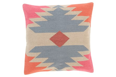 Accent Pillow-Sedona Abstract Orange Multi 18X18 - Main