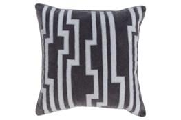 Accent Pillow-Avion Geo Grey 18X18