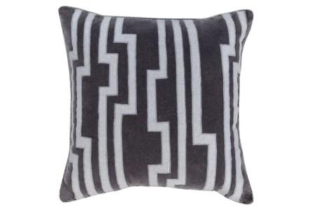 Accent Pillow-Avion Geo Grey 20X20