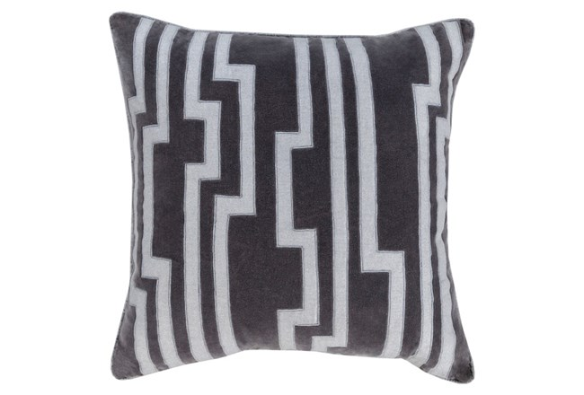 Accent Pillow-Avion Geo Grey 20X20 - 360