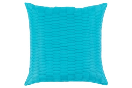 Accent Pillow-Alley Solid Sky Blue 20X20