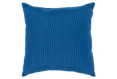 Accent Pillow-Alley Solid Cobalt 20X20