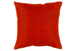 Accent Pillow-Alley Solid Rust 20X20