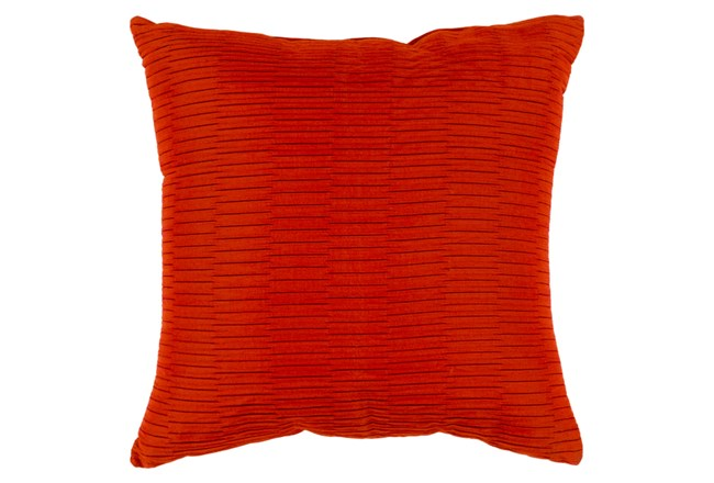 Accent Pillow-Alley Solid Rust 20X20 - 360