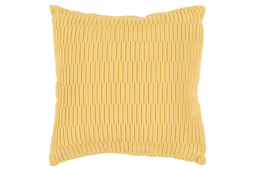 Accent Pillow-Alley Solid Gold 20X20