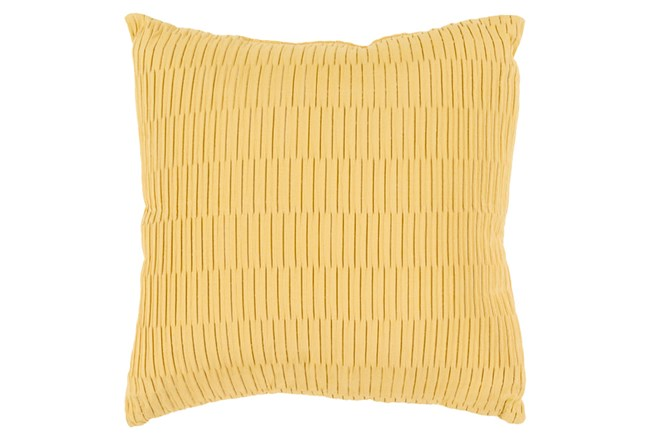 Accent Pillow-Alley Solid Gold 20X20 - 360