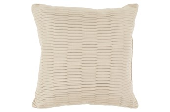 Accent Pillow-Alley Solid Natural 20X20