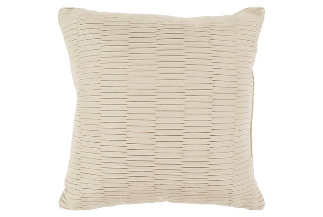 Accent Pillow-Alley Solid Natural 20X20 - 360