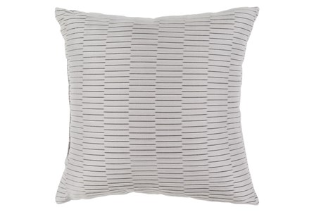 Accent Pillow-Alley Solid Grey 20X20