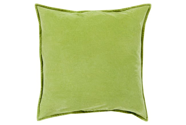 Accent Pillow-Beckley Solid Olive 18X18 - 360