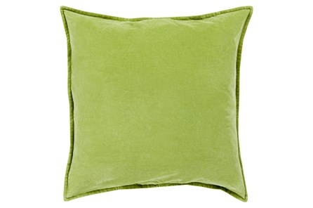 Accent Pillow-Beckley Solid Olive 22X22 - Main