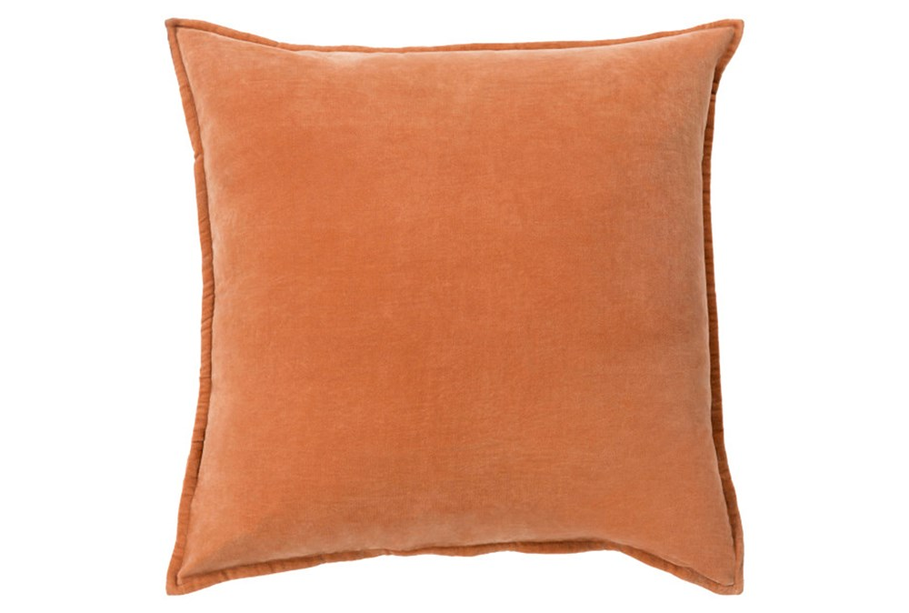 Accent Pillow-Beckley Solid Rust 18X18