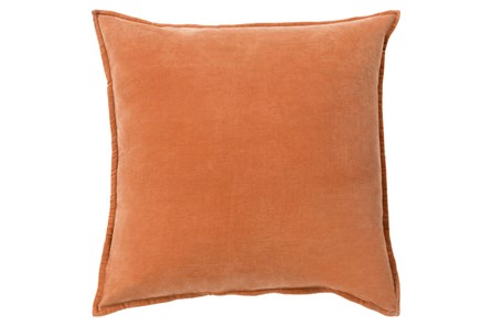 Accent Pillow-Beckley Solid Rust 18X18 - Main