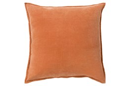 Accent Pillow-Beckley Solid Rust 22X22