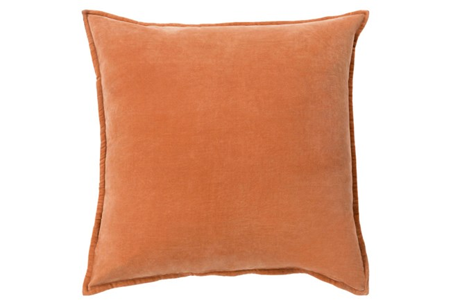 Accent Pillow-Beckley Solid Rust 22X22 - 360