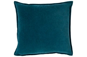 Accent Pillow-Beckley Solid Teal 18X18