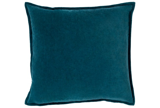 Accent Pillow-Beckley Solid Teal 18X18 - 360