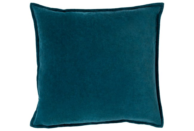 Accent Pillow-Beckley Solid Teal 22X22 - 360