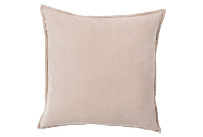 Accent Pillow-Beckley Solid Grey 18X18 - 360