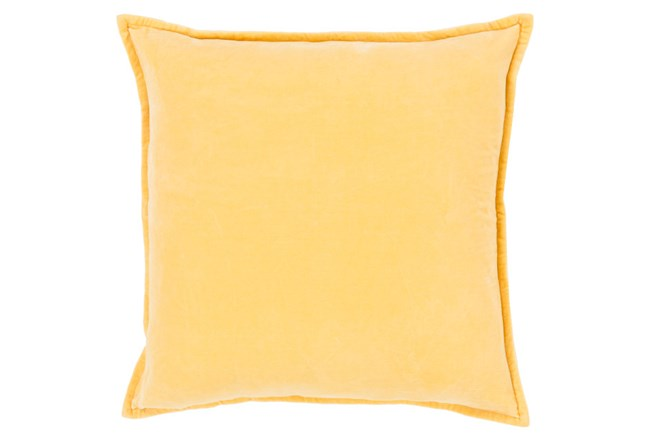 Accent Pillow-Beckley Solid Gold 18X18 - 360