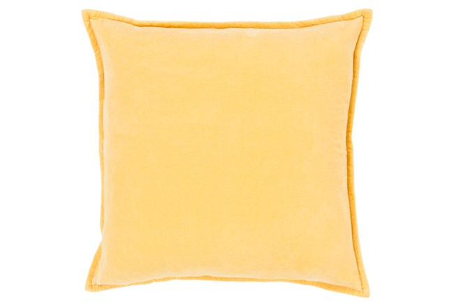 Accent Pillow-Beckley Solid Gold 22X22 - 360