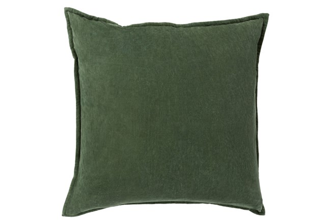 Accent Pillow-Beckley Solid Emerald 18X18 - 360