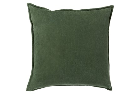 Accent Pillow-Beckley Solid Emerald 22X22 - Main