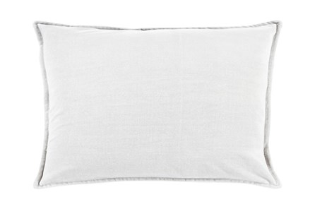 Accent Pillow-Beckley Solid Light Grey 13X20