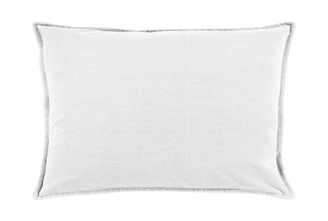 Accent Pillow-Beckley Solid Light Grey 13X20 - 360
