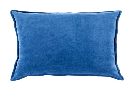 Accent Pillow-Beckley Solid Cobalt 13X19