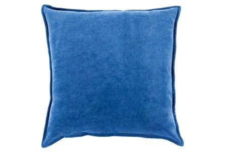 Accent Pillow-Beckley Solid Cobalt 18X18
