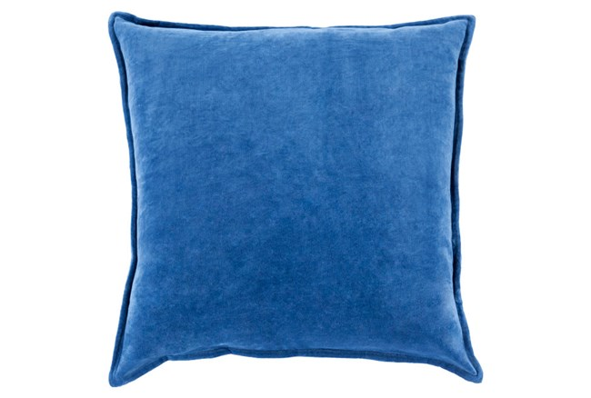 Accent Pillow-Beckley Solid Cobalt 18X18 - 360