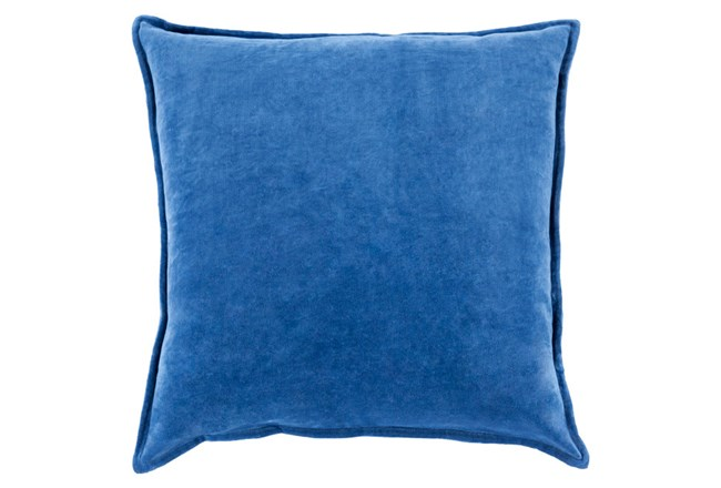 Accent Pillow-Beckley Solid Cobalt 18X18 - 360